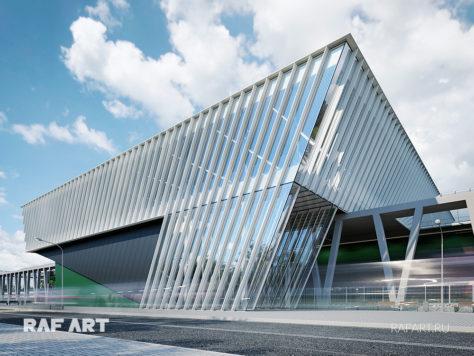 Дизайн проект станции РЖД «Кокошкино» | DESIGN of the CONCOURSE