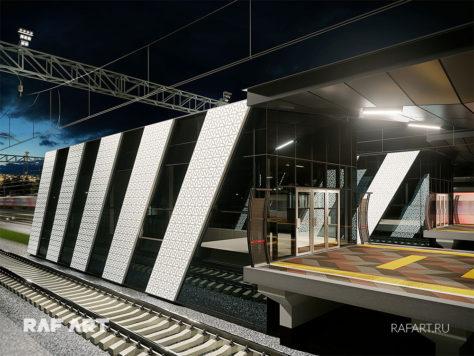Дизайн проект станции РЖД «Санино» | DESIGN of the LOBBY