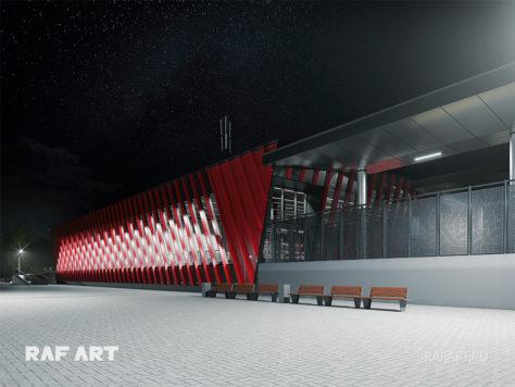 Станция Рублево-Архангельское МЦД | DESIGN of the LOBBY