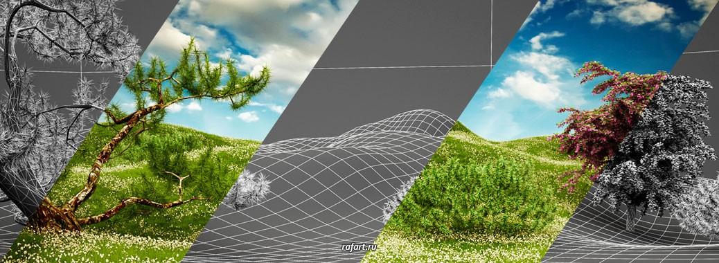Рендер в 3ds Max + V-Ray