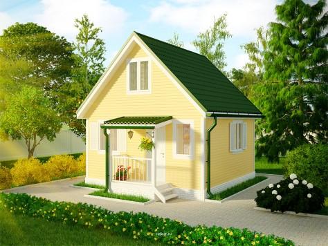 Загородный дом 5x5 м