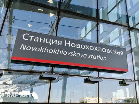 Фотографии станции РЖД «Новохохловская» МЦД-2