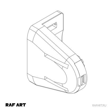 control block chain mini | в сборе | RAF ART